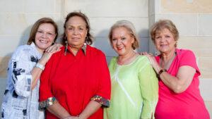 The Sapphires 2012 Lois Peeler Laurel Robinson, Naomi Mayers lead singer, and Beverley Briggs