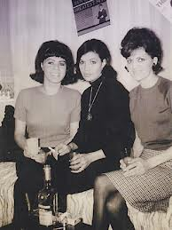 The Sapphires The original Sapphires photographed in their St Kilda apartment 1966.  Left to Right Laurel Robinson, Naomi Mayers lead singer, and Beverley Briggs